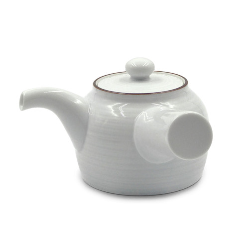 Hakusan Porcelain Kyusu Teapot 12 fl oz