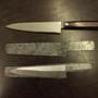 "Takamura Santoku Knife Hana Damascus HSPS 165mm (6.5"")"