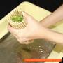 "Super Hygienic Plastic Non-Stick Sushi Rolling Mat (Makisu) 10"" x 9.5"""