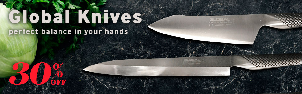 30% Global Knives 24 Hours Only