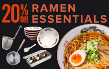 20% off Ramen bowls, kitchenware for ramen restaurants