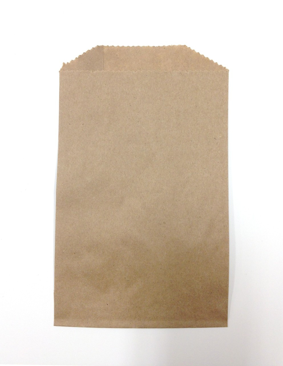Unique Set of 100 - Brown Kraft Food Safe Flat Merchandise Bags - 4 x 6  QE54