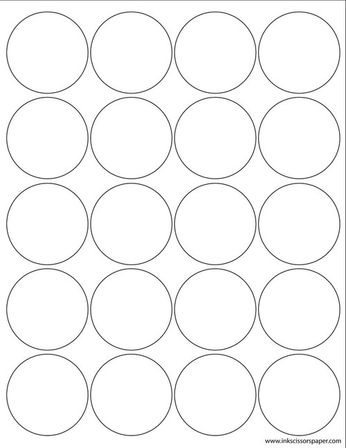 template 3 1 4 inch round labels inkscissorspaper. Black Bedroom Furniture Sets. Home Design Ideas