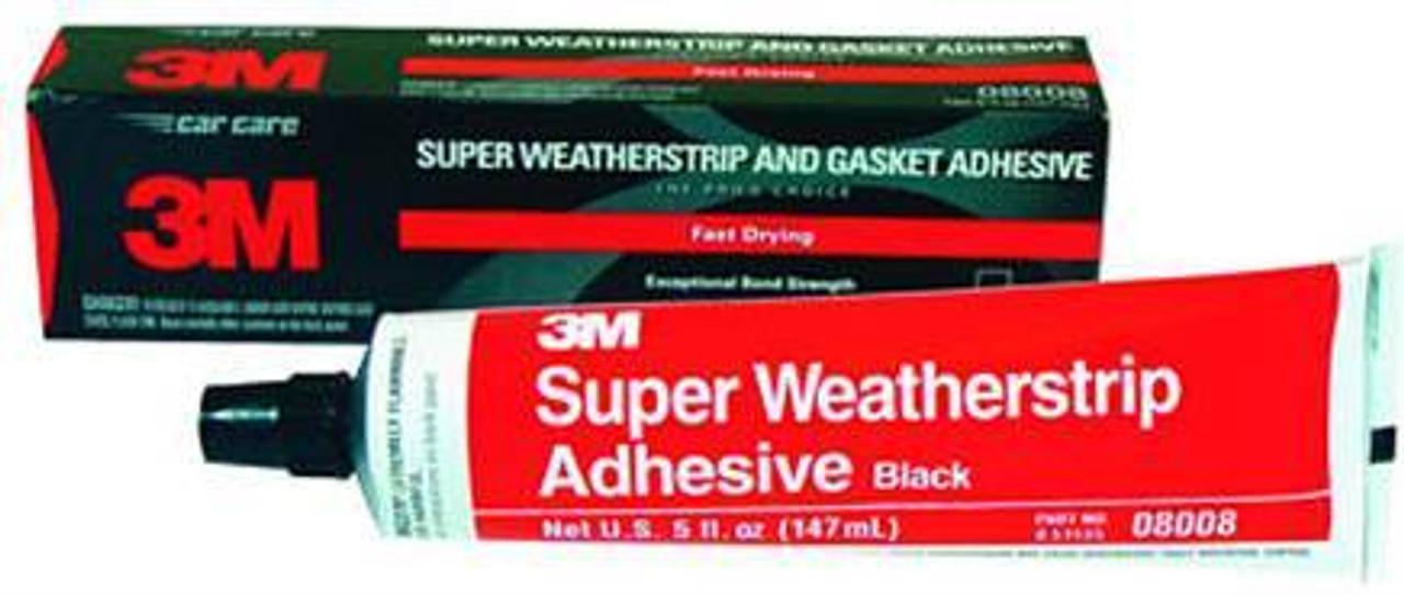 3M 8008 Black Super Weatherstrip Adhesive