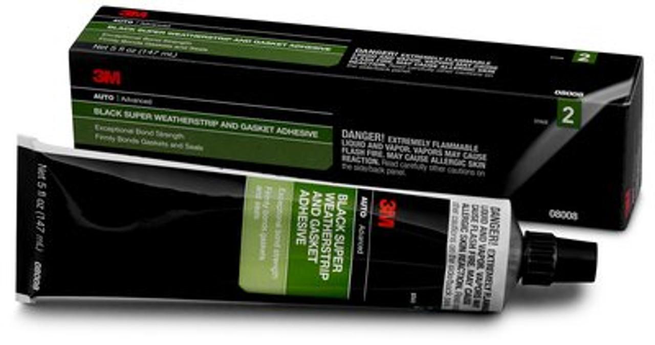 Weatherstrip Adhesive 8008 Black