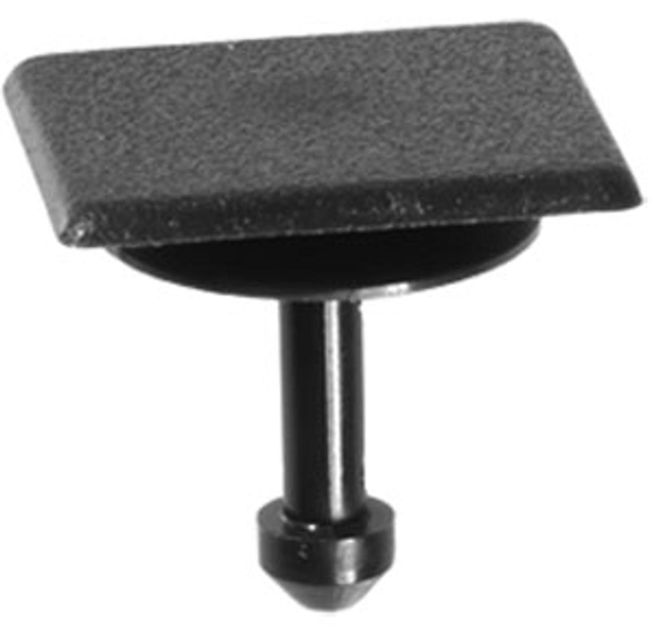 Cowl Panel Vent Cap Use With Auveco 21590 Top Head Size: 16mm x 18mm Bottom Head Diameter: 14mm Stem Length: 12mm Subaru Forester, Impreza, Legacy, Outback & WRX 2008-On OEM# 91486-KJ010 Black Nylon 15 Per Box Click Next Image For Clip Detail