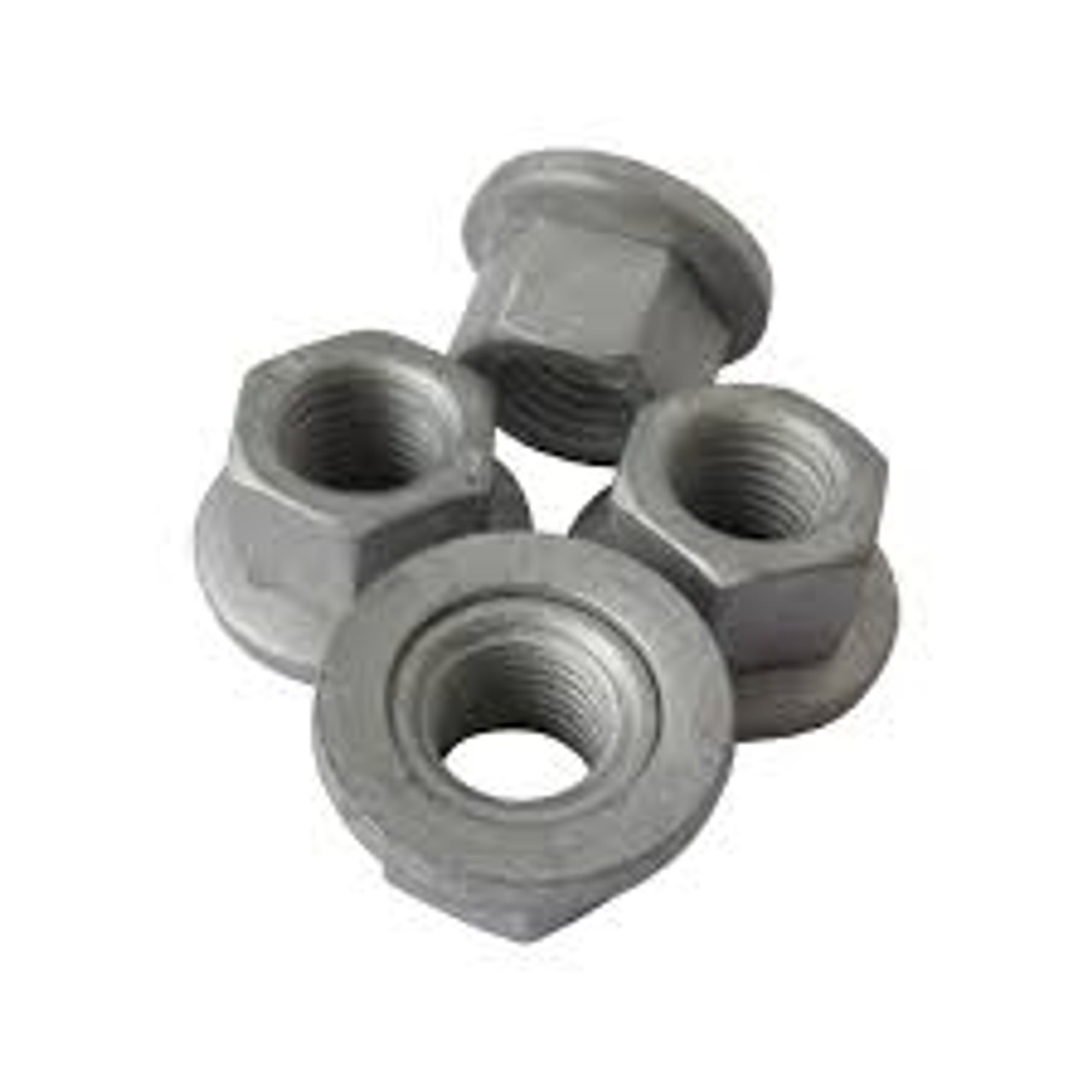 """Free Spinning Washer Nut 1/4"""" - 20 Thread Washer O.D. : 7/8"""" Hex Size: 7/16"""" OEM# 45334, 6023204, 6025004 Phosphate 50 Per Box Click Next Image For Nut Size Chart"""