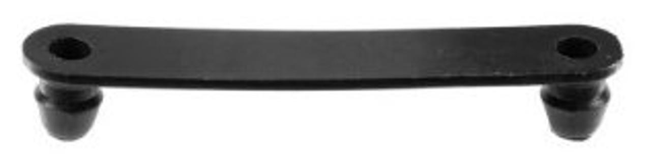 "Wire Harness Tie Strap Length: 2-1/4"" Black Nylon 25 Per Package"