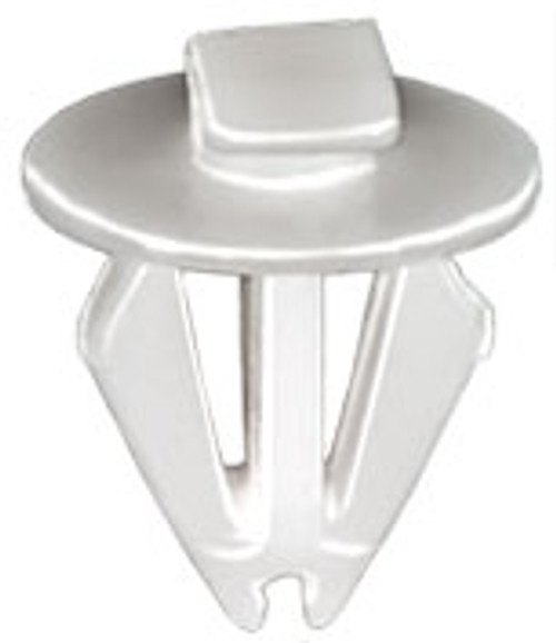 Body Side Moulding Clip Top Head Size: 4mm x 10.5mm Bottom Head Diameter: 11mm Stem Length: 10mm White Nylon Fits Into 7mm Hole Dodge Dart 2014 - On Not Available from O.E.M. 25 Per Box