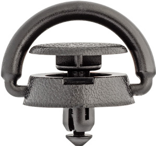 Trunk Knit Hook Push-Type Retainer Top Head Diameter: 24mm Bottom Head Diameter: 27mm Black Nylon Stem Length: 10mm Fits Into 8mm Hole Overall Length: 25mm Infiniti Q45 2000 - 1997 Nissan 350Z, Altima & GT-R 2003 - On Nissan OEM# 84937-6P000 15 Per Box