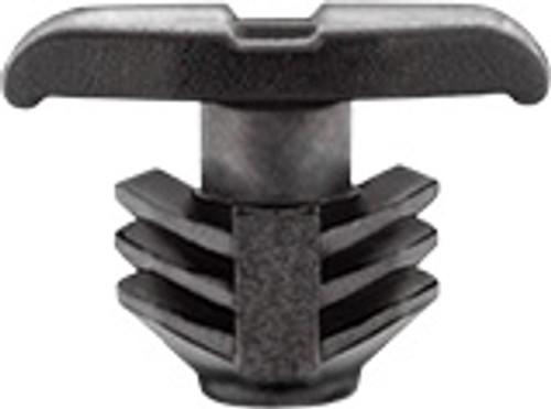 Hood & Bumper Seal Retainer Black Nylon Head Size: 4.5mm x 13mm Stem Diameter: 7.6mm Stem Length: 7.5mm Hyundai Elantra & Genesis 2013 - On Kia K900 & Optima 2011 - On Hyundai OEM# 86438-2T000 50 Per Box