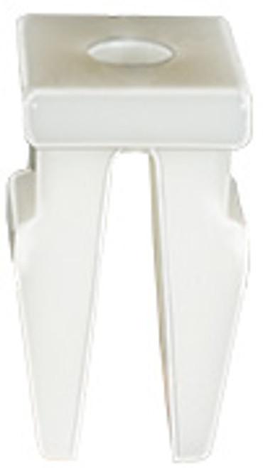 Bumper Grommet Screw Size: M3.5 (#6) Head Size: 8mm x 10mm White Nylon Stem Length: 12mm Hyundai Azera & Sonata 2012 - On Kia Cadenza 2014 - On Hyundai OEM# 86518-3M000 25 Per Box
