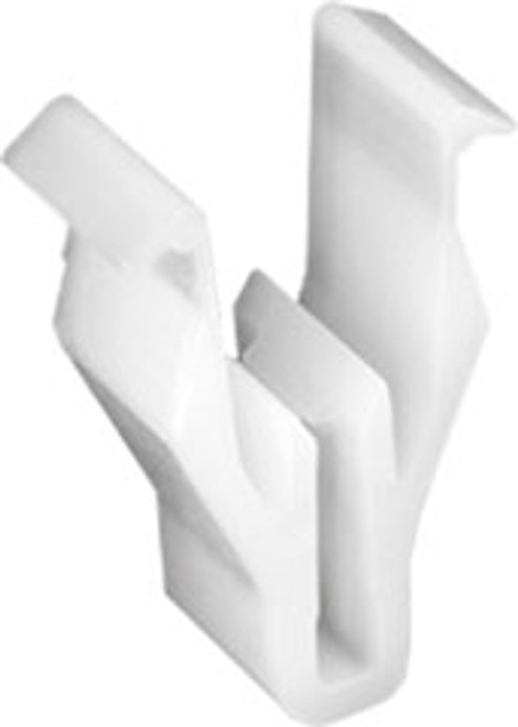 Instrument & Side Panel Retainer Width (Ear to Ear): 10.3mm Width Across Bottom Legs: 13MM White Nylon Overall Height: 18.6mm Mazda 2, 3, 5, 6, CX-5, CX-7, CX-9, Miata, MPV, Protege & RX-8 Mitsubishi 2000-On Mazda OEM# S47P-64-345 Mitsubishi OEM# MQ907568 25 Per Box