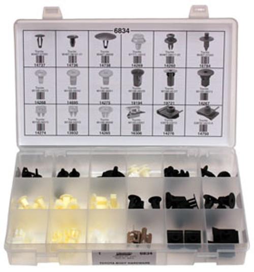Toyota Body Hardware Quick-Select Assortment Kit 72 Pieces