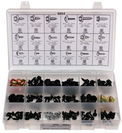 Metric Specialty Screws Quick-Select Assortment Kit 145 Pieces Click Next Image For Screw Specs