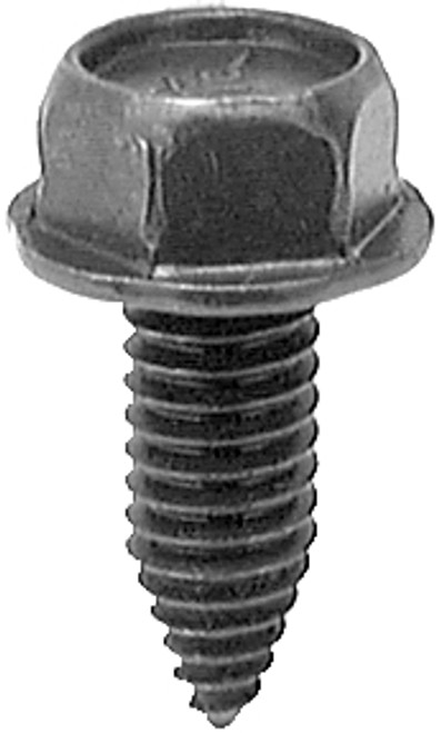 """5/16 - 18 x 13/16 Hex: 1/2"""" Hex Washer Head Body Bolts Black Phosphate 50 Per Box Click Next Images For Body Bolt Spec Charts"""