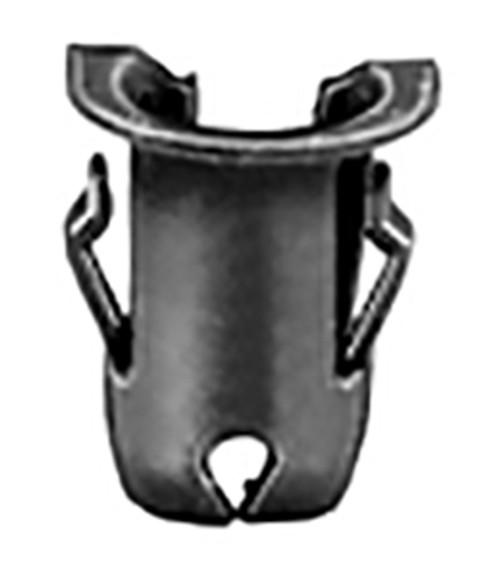 "Stud Size: 1/8"" Range .038-.044"" 5/32"" Hole Diameter Tubular Nuts For Emblem Installation  100 Per Box"
