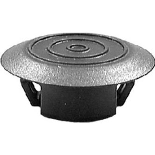 Rocker Moulding Retainer Head Diameter:32mm Fits In 22mm Hole Pontiac Vibe & Toyota Corolla 2003-On GM OEM#: 88970495, 88973654 Toyota OEM#: 76924-52021 Black Nylon 25 Per Box Click Next Image For Clip Detail