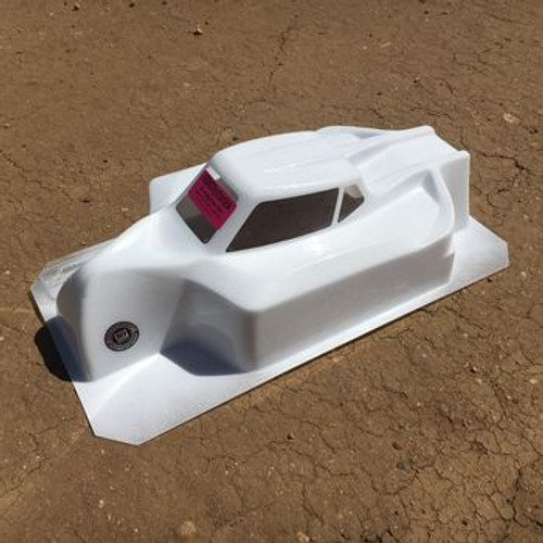 JQRacing 1/8 Buggy Black Edition Body (Clear) - Designed By Bittydesign