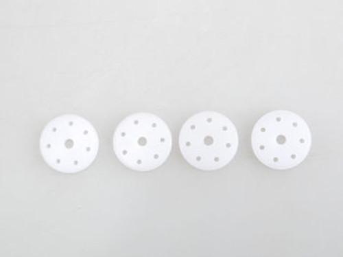 JQRacing 7-Hole 1.3mm Flat 16mm Shock Piston (4) (JQB0385)