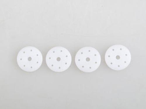 JQRacing 7-Hole 1.2mm Flat 16mm Shock Piston (4) (JQB0384)