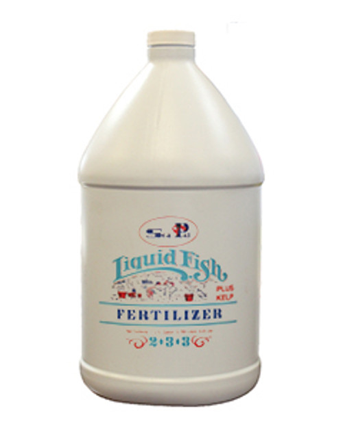 SeaPal (2-3-3) Liquid Fish Emulsion Plus Kelp 1gal