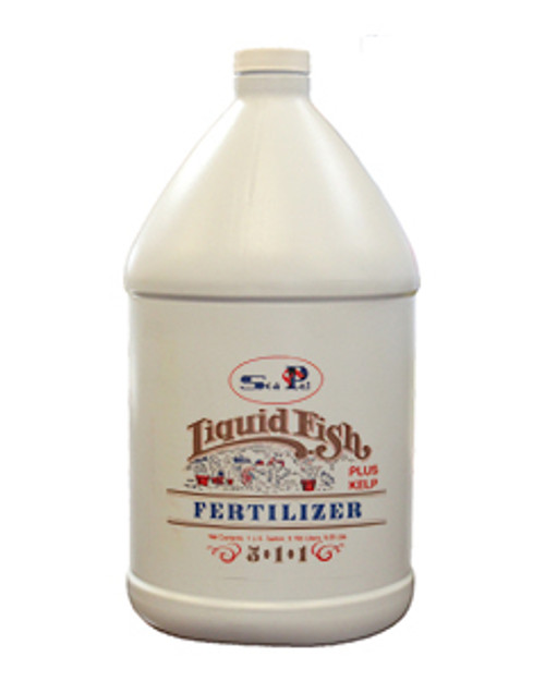 SeaPal (5-1-1) Liquid Fish Emulsion 95% Organic 1gal