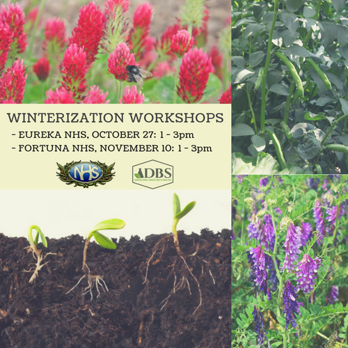 Winterization Workshop Ticket - Fortuna Nov 10th