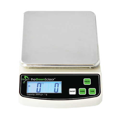The Green Scissor Digital Table Top Scale (2000 g capacity)