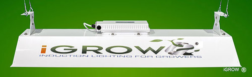 Side view of the iGROW commercial fixture.