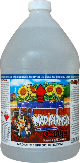 Mad Farmer pH Get UP 1 gallon (base)