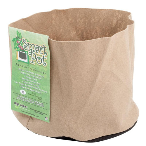Smart Pot Tan 5 gallon