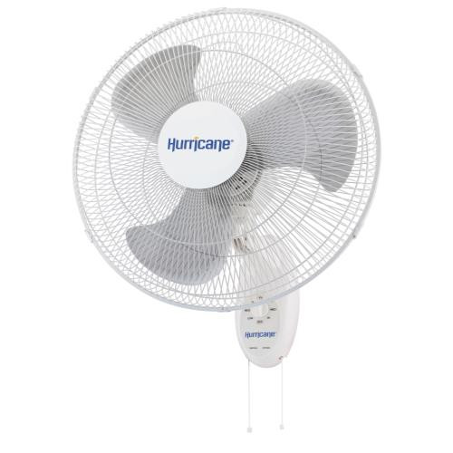 Hurricane Supreme Wall Mount Oscillating Fan 18in
