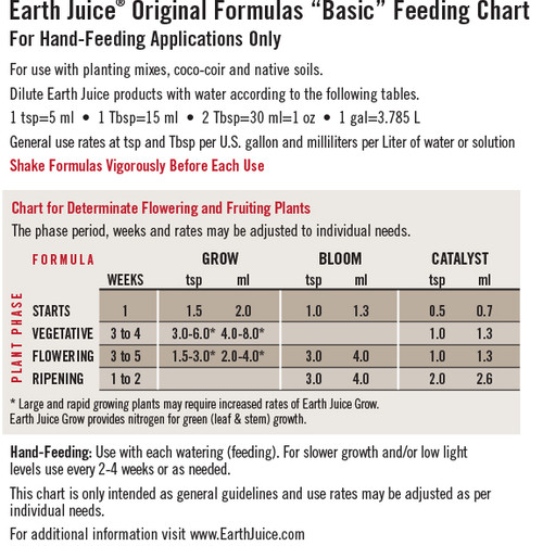 Earth Juice Bloom 1 quart (0-3-1)