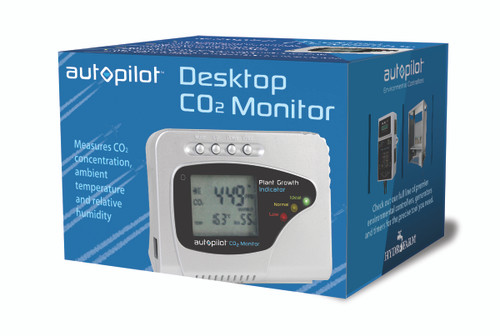 AutoPilot Desktop CO2 Monitor (CO2 temp relative humidity)