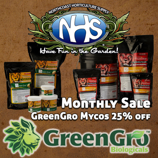 GreenGro Myco Sale 25% This Month