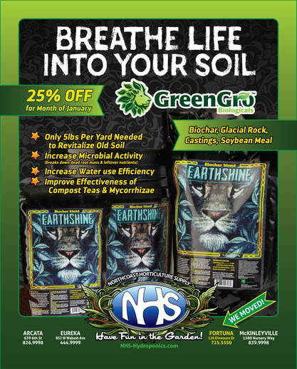 ​Earthshine Biochar 25% Off the month of January!