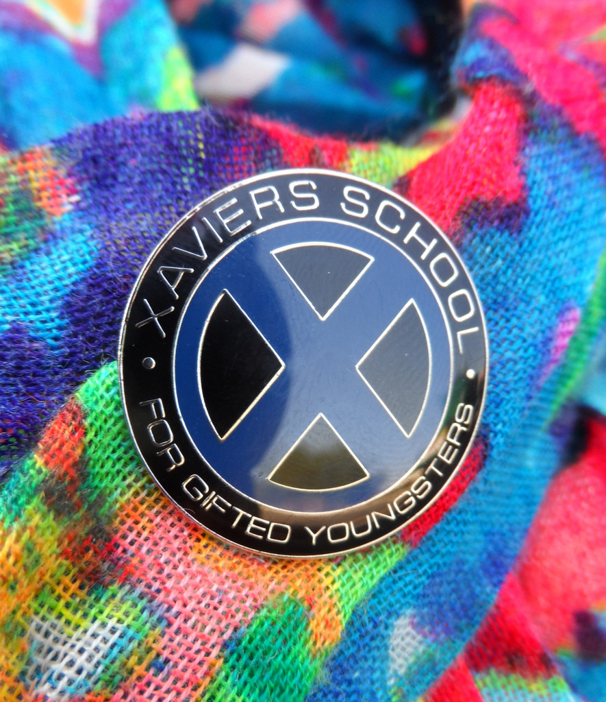 Xaviers School For Gifted Youngsters Enamel Pin