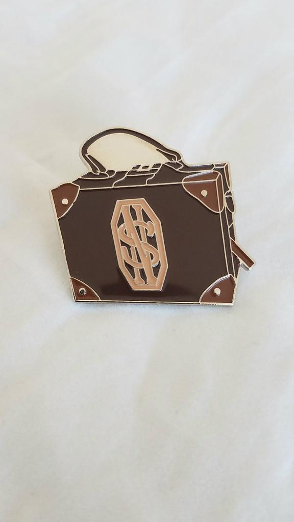 Newt Scamander Suitcase Enamel Pin