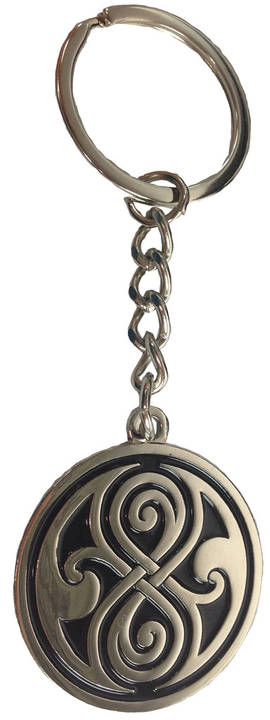 Seal of Gallifrey (Rassilon) Keychain