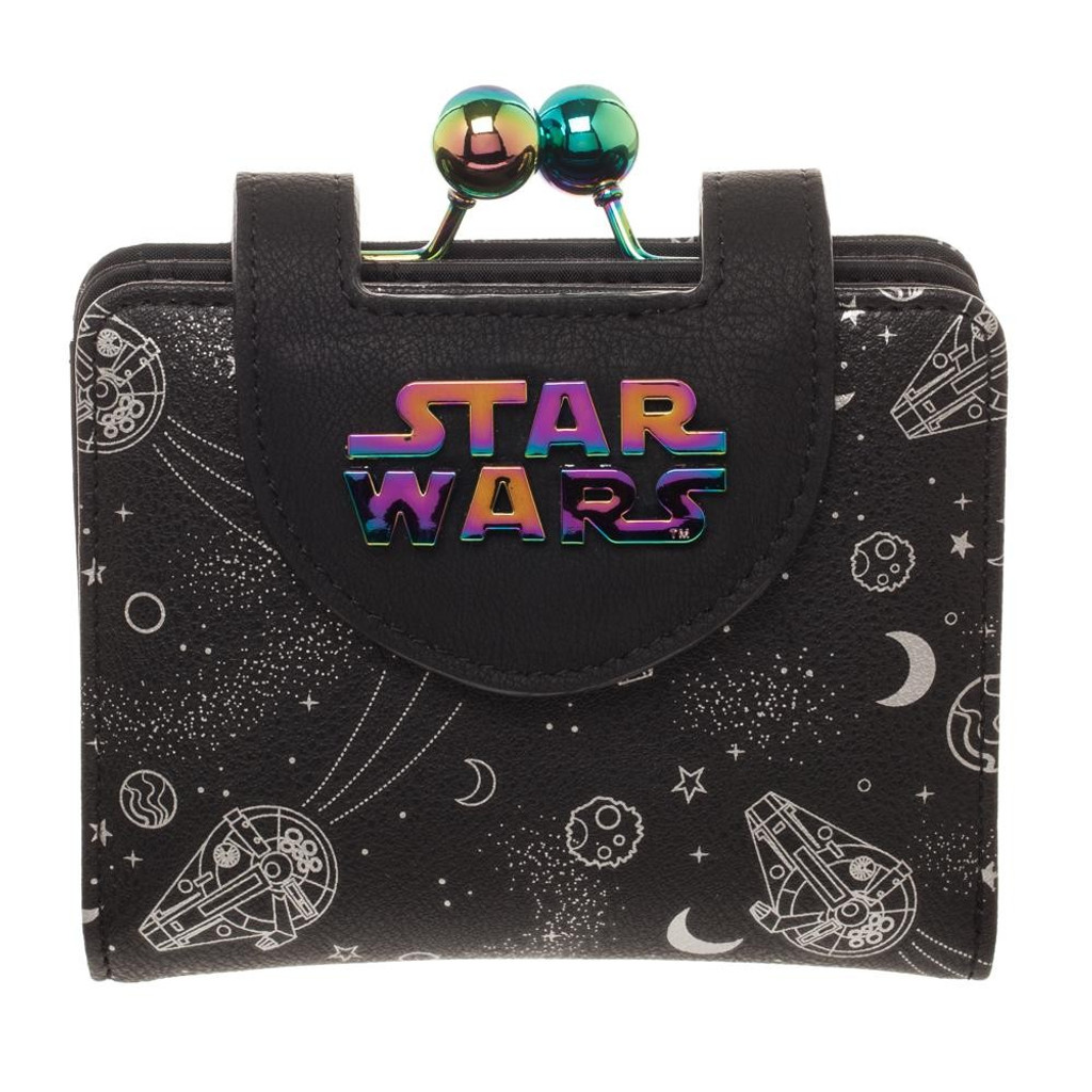 Star Wars Han Solo Millennium Falcon Iridescent Wallet