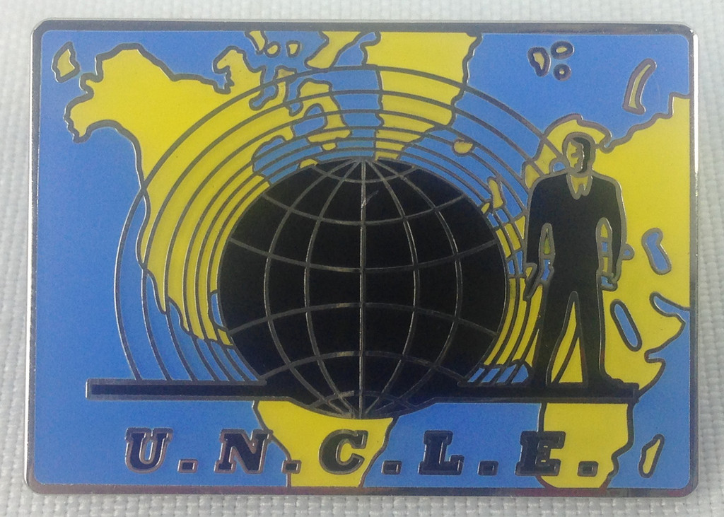 Man From U.N.C.L.E. Enamel Pin
