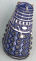 Blue Dalek Pin