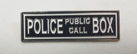 """Police Public Call Box"" Marquee Enamel Pin"