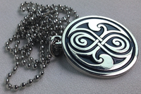 Seal of Gallifrey (Rassilon) Pendant