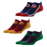 Avengers 3-Pair Sport Ankle Socks