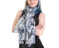 Star Wars R2D2 All-Over Print Scarf