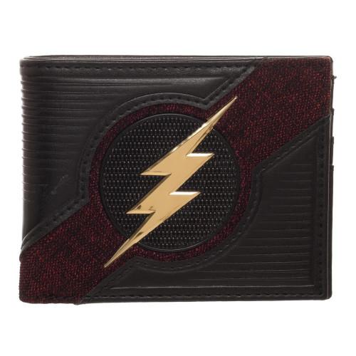 DC Comics Flash Chrome Bi-Fold Wallet