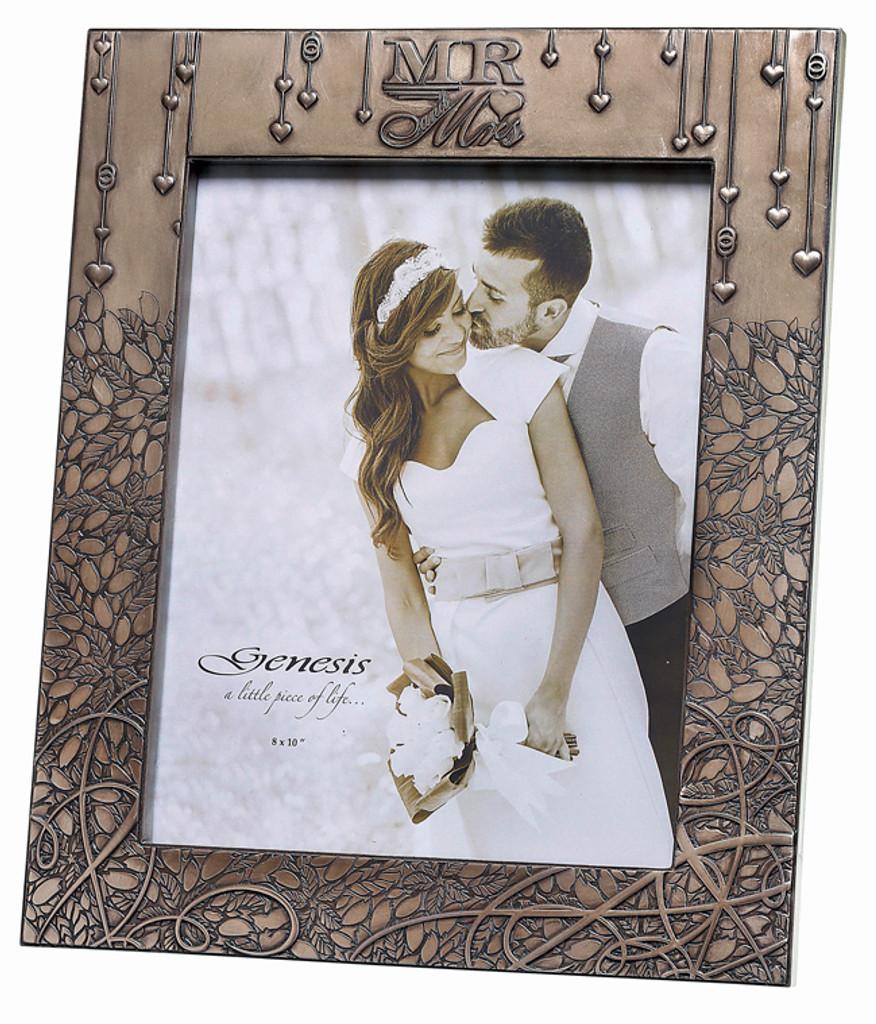 Mr & Mrs Wedding Frame - NN034 - Genesis & Mindy Brownes Interiors