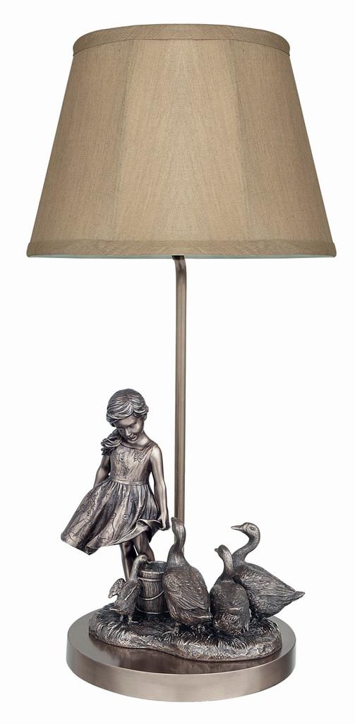 The Goose Girl Lamp   PP014L